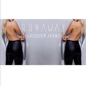 Runway The Label Pants - NWOT Runway The Label Lacquer Pants